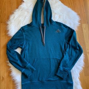 Women's Adidas.Blue Ultimate Hoodie Size Small